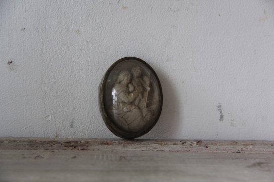 ドームガラス型 メダイ マリアとイエス