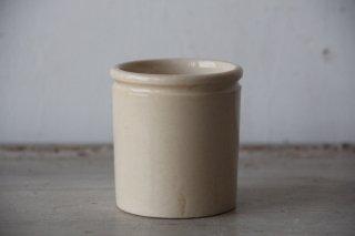 フランスアンティーク  陶器のミニポット