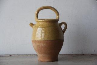 フランスアンティーク  南仏陶器のピシェ