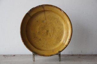 フランスアンティーク  陶器の大皿