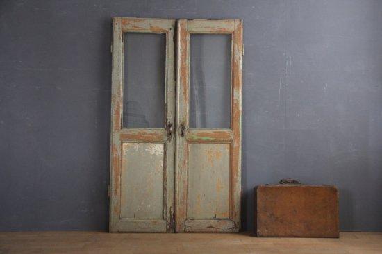フランスアンティーク キャビネットの扉
