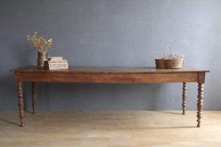 フランスアンティーク 木製ダイニングテーブル D