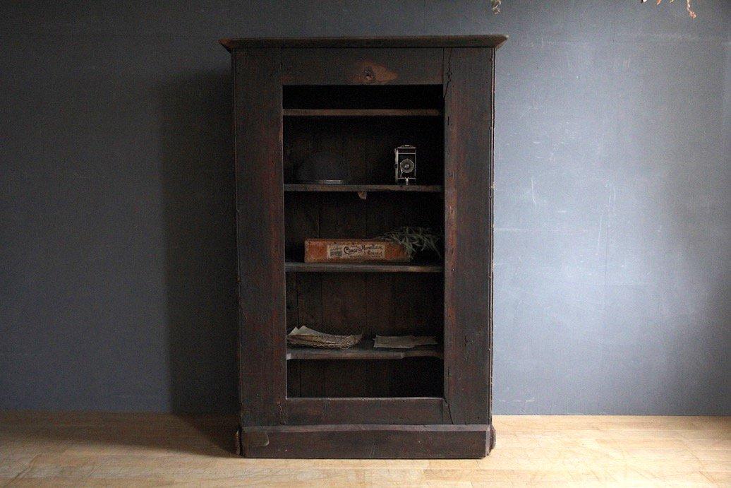 フランスアンティーク 古手の木製棚