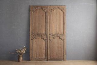 フランスアンティーク 家具の両開き扉