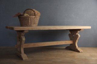 フランスアンティーク 修道院の木製テーブル