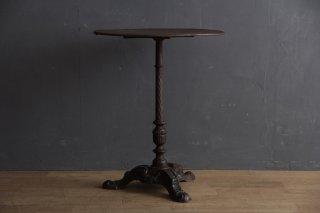 フランスアンティーク アイアンのカフェテーブル