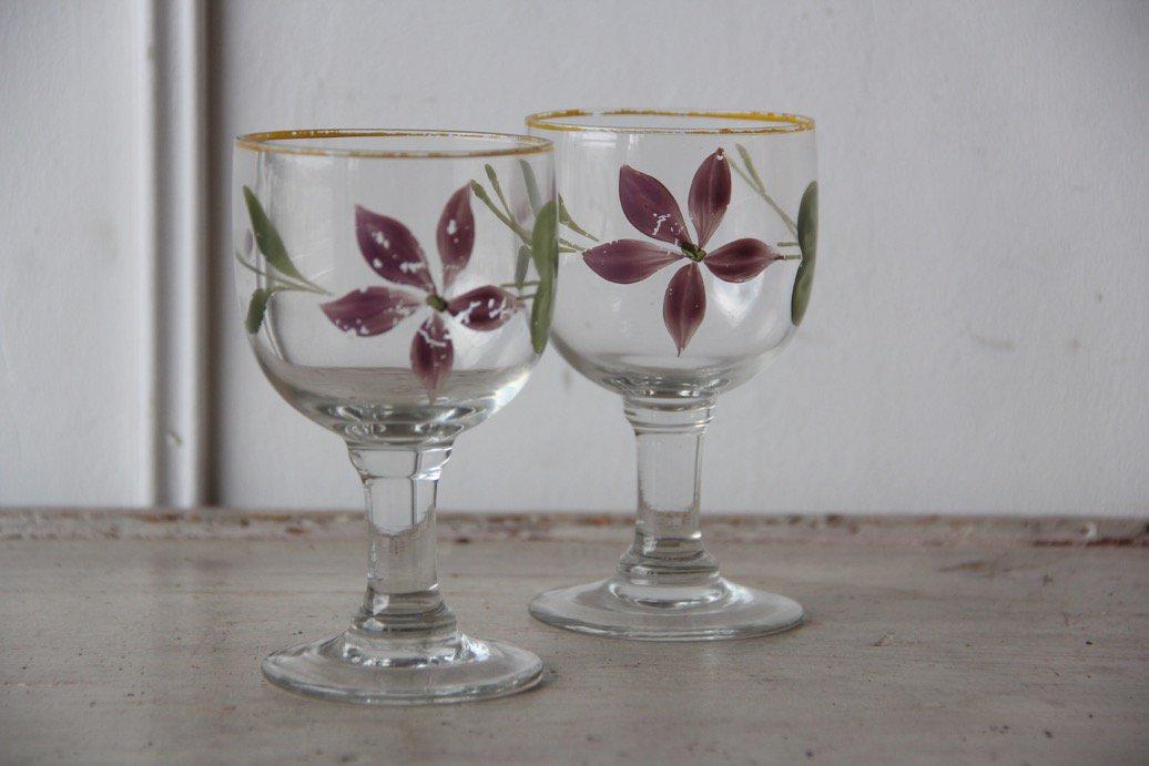 フランスアンティーク  装飾グラス【在庫2】