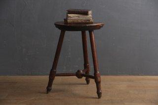 フランスアンティーク 木製スツール B