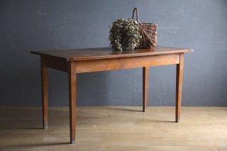 フランスアンティーク 木製ダイニングテーブル
