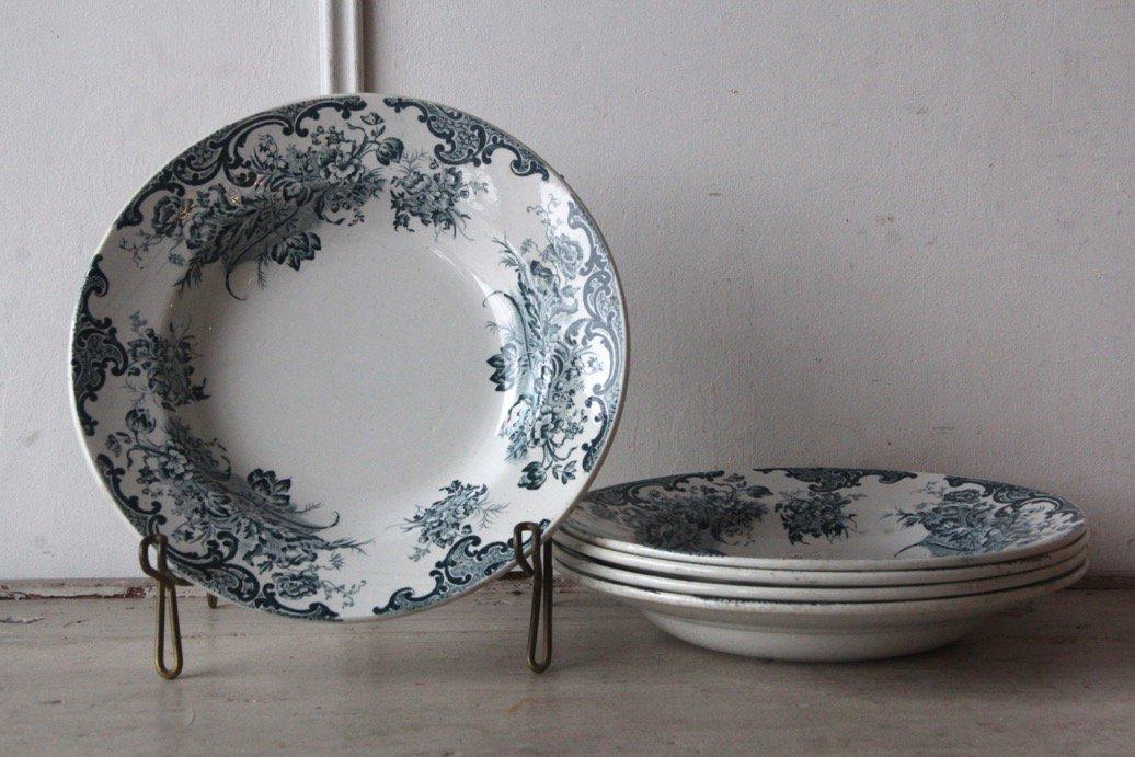 SAINT AMAND  Alebacqz&Bouchart 植物ブーケ 深皿