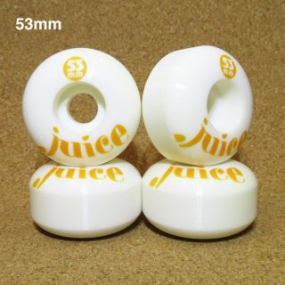 JUICE WHEEL 53mm 100A ホワイト