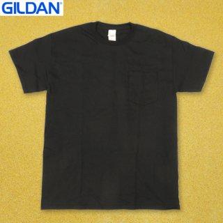 <img class='new_mark_img1' src='https://img.shop-pro.jp/img/new/icons25.gif' style='border:none;display:inline;margin:0px;padding:0px;width:auto;' />GILDAN T2300 6oz ポケット Tシャツ BLACK