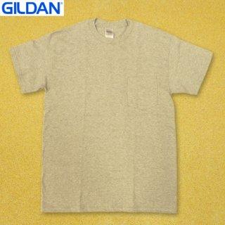 <img class='new_mark_img1' src='https://img.shop-pro.jp/img/new/icons25.gif' style='border:none;display:inline;margin:0px;padding:0px;width:auto;' />GILDAN T2300 6oz ポケット Tシャツ GREY