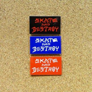 THRASHER  ステッカー  SKATE AND DESTROY 1.75インチ