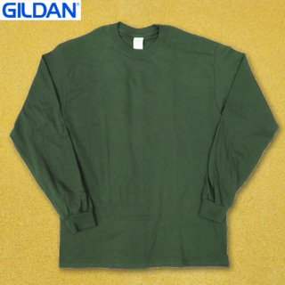 <img class='new_mark_img1' src='https://img.shop-pro.jp/img/new/icons25.gif' style='border:none;display:inline;margin:0px;padding:0px;width:auto;' />GILDAN T2300 6oz long sleeve Tシャツ FORREST GREEN