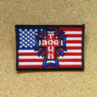 DOG TOWN PATCH ワッペン FLAG 4インチ