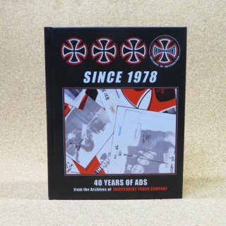INDEPENDENT SINCE 1978 – 40 YEARS OF ADS BOOK ブック