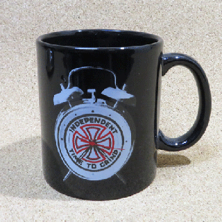 <img class='new_mark_img1' src='https://img.shop-pro.jp/img/new/icons1.gif' style='border:none;display:inline;margin:0px;padding:0px;width:auto;' />INDEPENDENT  TIME TO GRIND  COFFEE MUG BLACK