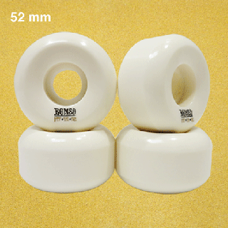 BONES ウィール STF V5 SHAPE BLANKS 52mm WHITE
