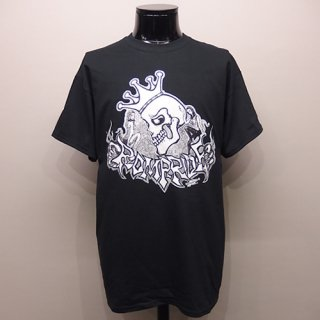 Tシャツ -CROWN SKULL-