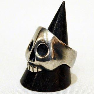 リング -funny Skull ring 艶無し-