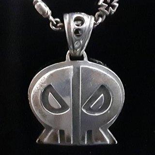ペンダントトップ -logo skulltype pendant top-