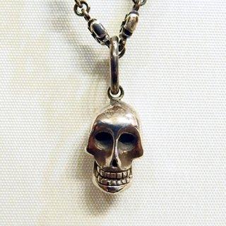 ペンダントトップ -silence skull pendant top-