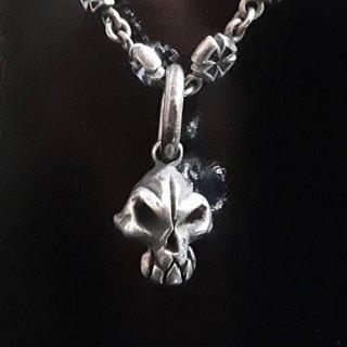 ペンダントトップ -anger skull pendant top-