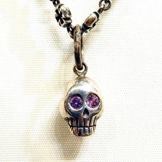 ペンダントトップ -tiny skull pendant top-
