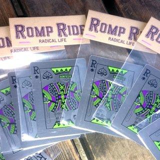 ステッカー -Romp Ride King-