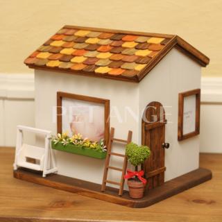 小さなオレンジのお家