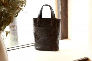 【ご予約】Cisei × 山本製鞄 Crocodile Tote Bag Small (クロコダイル トートバッグ スモール)