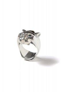"""【ご予約】FIXER(フィクサー) SMALL PANTHER RING """"WHITE DIAMOND"""" スモール パンサーリング ダイヤモンド SILVER (シルバー)"""