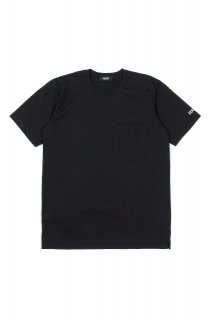 【ご予約】FIXER (フィクサー) FTS-01 2 Print Crew Neck T-shirt 2プリントTシャツ BLACK (ブラック)