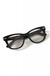 【ご予約】FIXER (フィクサー) BLACK PANTHER 18K GOLD サングラス BLACK × LIGHT GRAY (ブラック×ライトグレー)