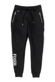 【ご予約】FIXER (フィクサー) FPT-01(エフピーティー01) Jogger Pants テクニカルジャージー ジョガーパンツ BLACK (ブラック)