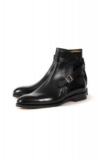 JOHN LOBB (ジョンロブ) ABBOT (アボット) Jodhpur Boots カーフレザー ジョッパーブーツ BLACK (ブラック)
