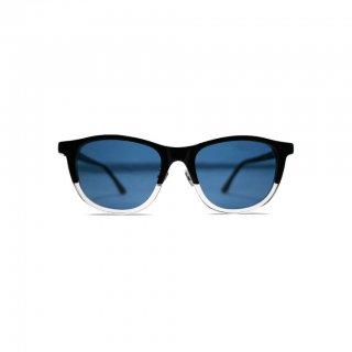 Mr.CASANOVA (ミスターカサノバ) BUZZ サングラス BLACK TO CLEAR × BLUE SMOKE