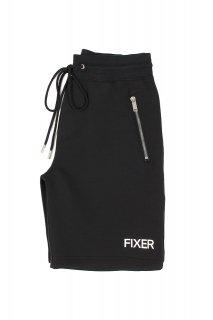 【ご予約】FIXER (フィクサー) FPT-02(エフピーティー02) Technical Jersey Short Pants テクニカルジャージー ショートパンツ BLACK (ブラック)