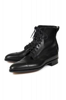 EDWARD GREEN (エドワードグリーン) GALWAY (ゴールウェイ) Lace up boots カーフレザー レースアップブーツ BLACK (ブラック)
