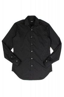 【ご予約】FIXER (フィクサー) FST-01 Broad Dress Shirts ストレッチコットン ブロード シャツ BLACK (ブラック)