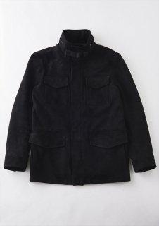 【ご予約】 1PIU1UGUALE3 (ウノピュウノウグァーレトレ) Vol.6 M-65 FIELD JACKET SUEDE M-65 スウェードジャケット BLACK (ブラック)