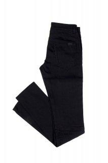 SAINT LAURENT (サンローラン) SKINNY-FIT JEANS IN USED BLACK DENIM スキニー ストレッチ デニムパンツ BLACK (ブラック)