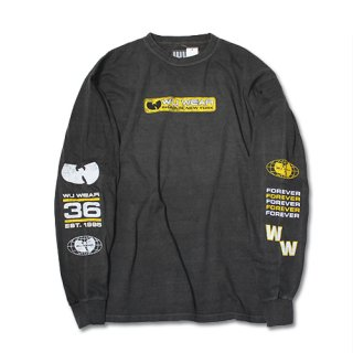 WU WEAR : MULTI PRINT L/S SHIRT