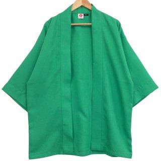 [Happi.Tokyo]綾織(あやおり)はっぴ(法被)-無地-ミントグリーン-Mint Green-