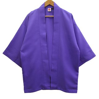 <img class='new_mark_img1' src='https://img.shop-pro.jp/img/new/icons1.gif' style='border:none;display:inline;margin:0px;padding:0px;width:auto;' />[Happi.Tokyo]綾織(あやおり)はっぴ(法被)-無地-紫-Purple-