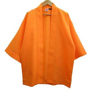 <img class='new_mark_img1' src='https://img.shop-pro.jp/img/new/icons1.gif' style='border:none;display:inline;margin:0px;padding:0px;width:auto;' />[Happi.Tokyo]綾織(あやおり)はっぴ(法被)-無地-オレンジ-Orange-