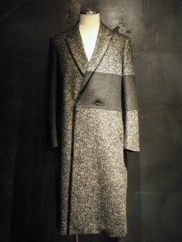 Tweed Changing Semi double Long Coat