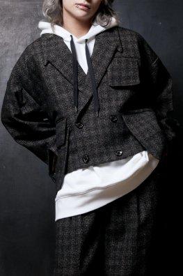 England Tweed Big Tailored Jacket 「alvelt」