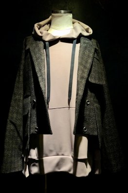 England Tweed Big Tailored Jacket 「alvert」with Silver925